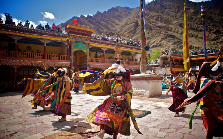 """The Magical """"Hemis Festival"""" of Ladakh- A rare mix of culture and adventure. http://goo.gl/OyE6rD"""