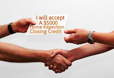 How to Negotiate A Real Estate Home Inspection - Offer A Home Inspection Closing Credit When Possible: http://www.maxrealestateexposure.com/negotiate-issues-home-inspection/