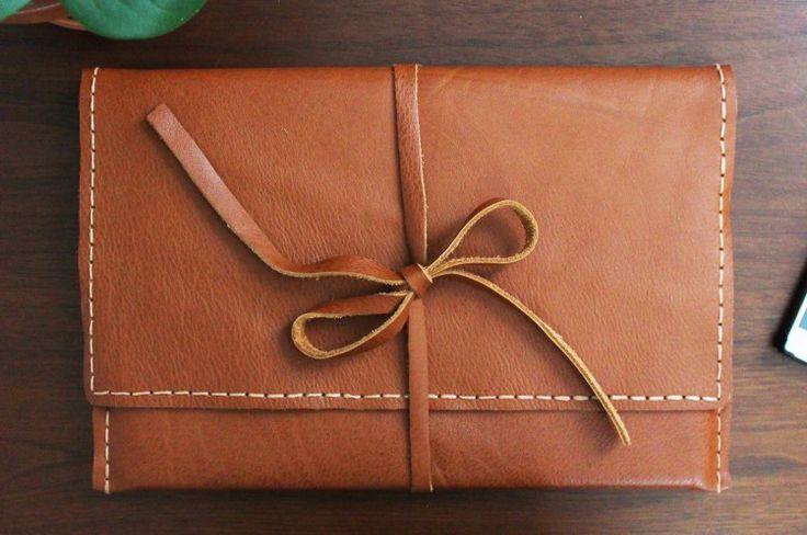 DIY Laptop Sleeve. felt instead of leather
