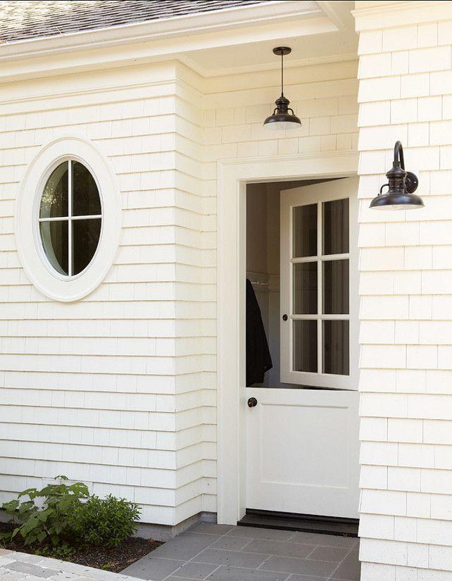 Dutch Doors. Dutch Doors Ideas. The dutch doors were made by Golden Gate Door & Window. #DutchDoor #DutchDoors #DutchDoorDesign Rasmussen Construction.