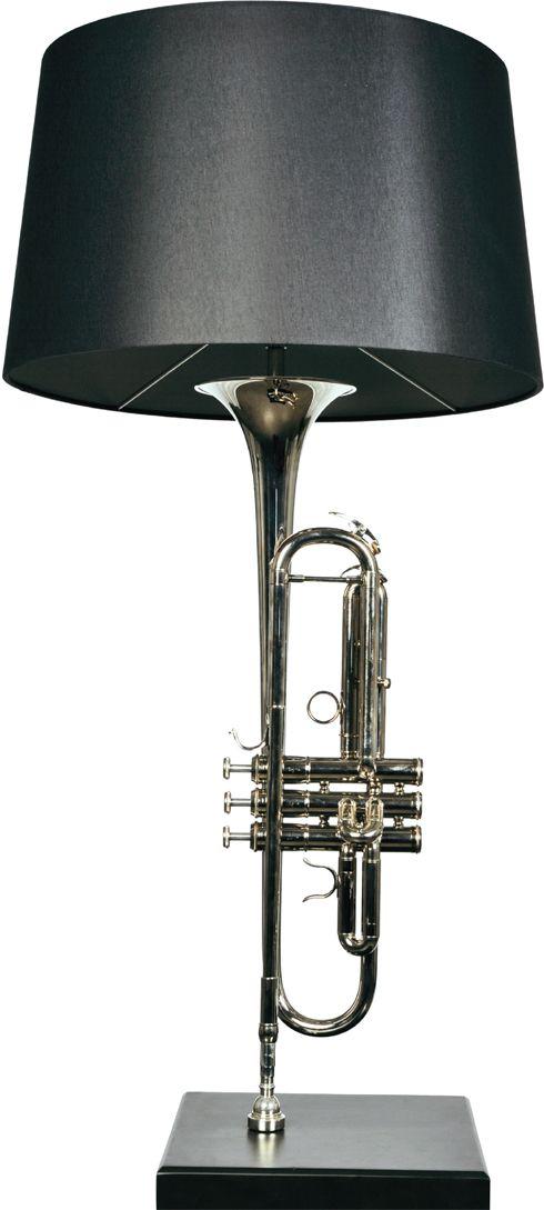 Very beautiful this table lamp 'TrumpLight' - Djanim van der Schalk