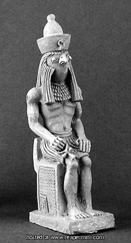 Dark Heaven Legends > Egyptian Statue: Horus    Reaper Miniatures :: Miniatures