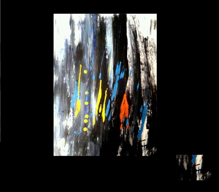 """COZZANI quadro astratto """"Hombre Pensiero""""50x40 olio n ACCARDI FINZI BONALUMI -30"""