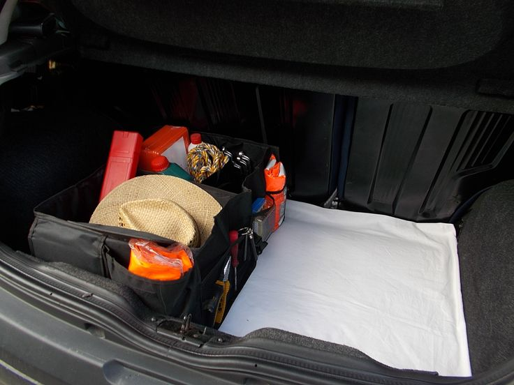 Good car organizer saves your trunk space. The trunk seems bigger.