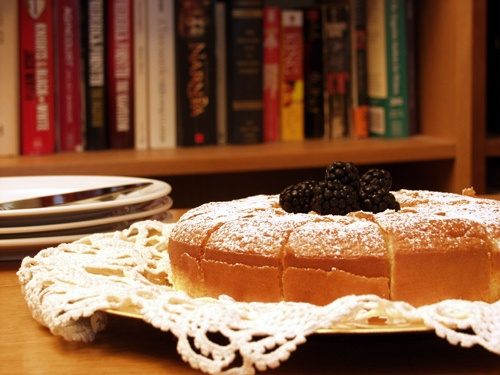 """Fiona's Almond Sponge from Dragonfly in Amber, by Diana Gabaldon.  (Recipe from the great Outlander-inspred recipe blog, Outlander Kitchen"""")"""