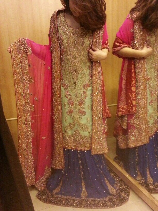 Beautiful walima dress