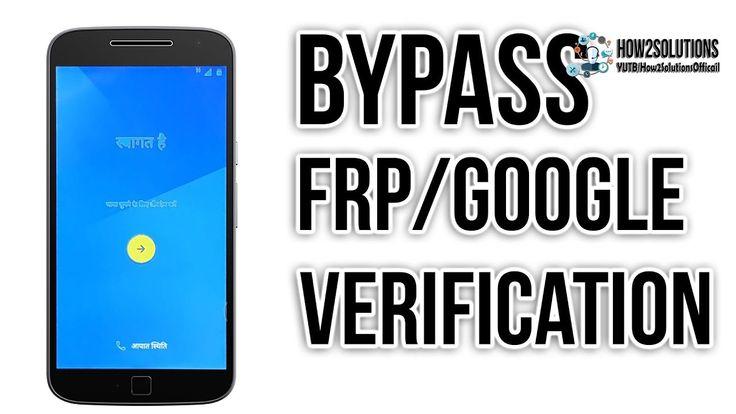 Motorola G4 Plus bypass google account FRP lock GOOGLE verification G3