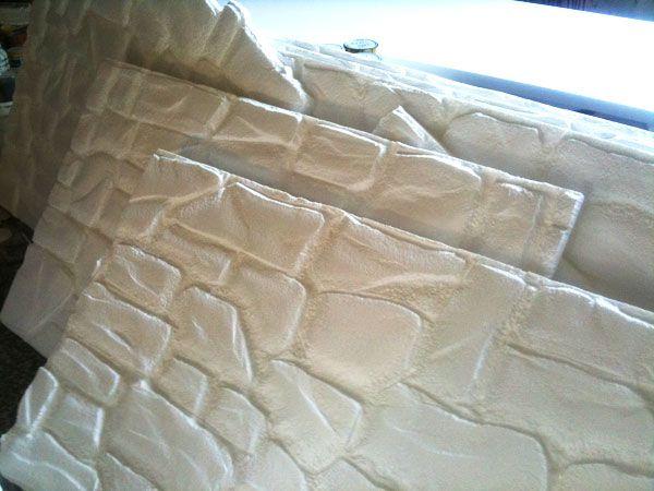 Pannelli finta pietra in polistirolo realizzati a mano for Pannelli finta pietra polistirolo