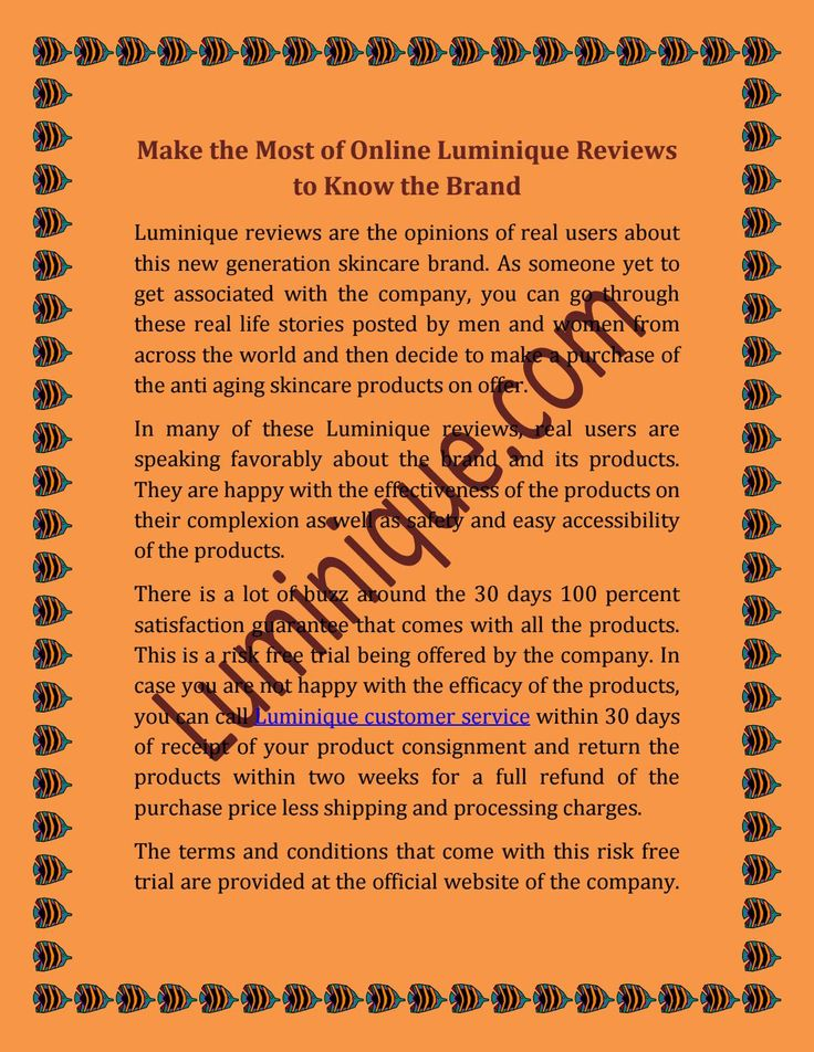 #Luminique products and are sharing their views in online Luminique #reviews.