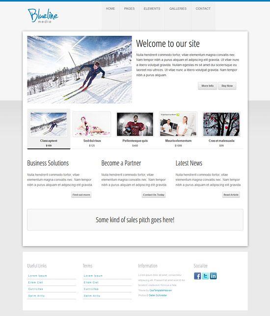 107 besten Free Website Templates Bilder auf Pinterest | Grafiken ...
