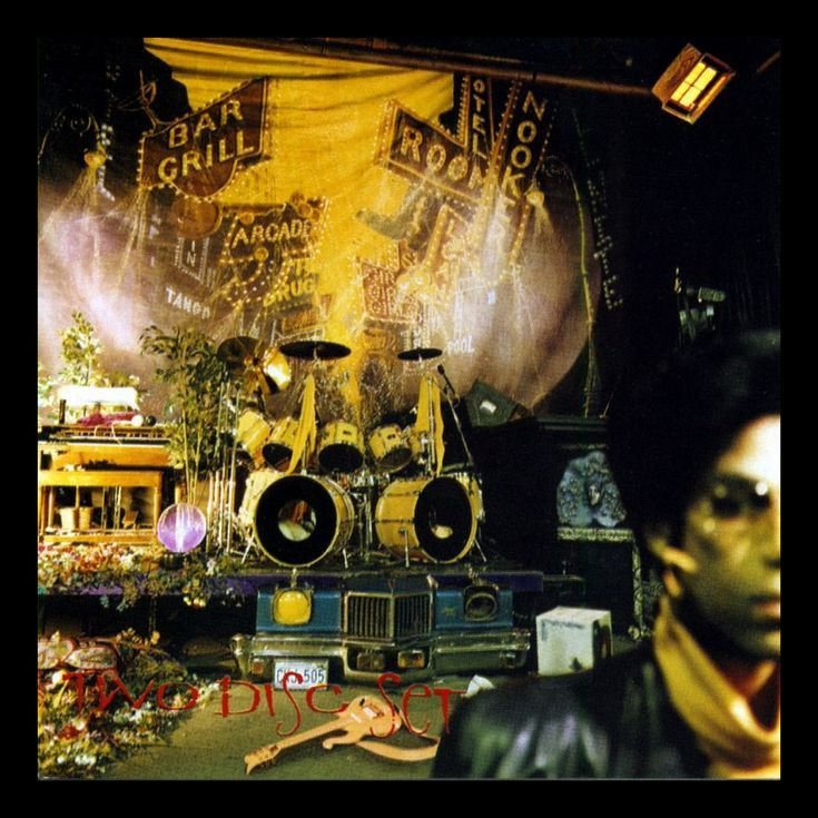 21 of the Best Album Covers of All Time: Prince - Sign O' the Times (1987)
