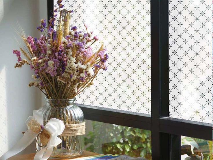 29 best Folie Geam Decorativă Electrostatică images on Pinterest - folie für badezimmerfenster
