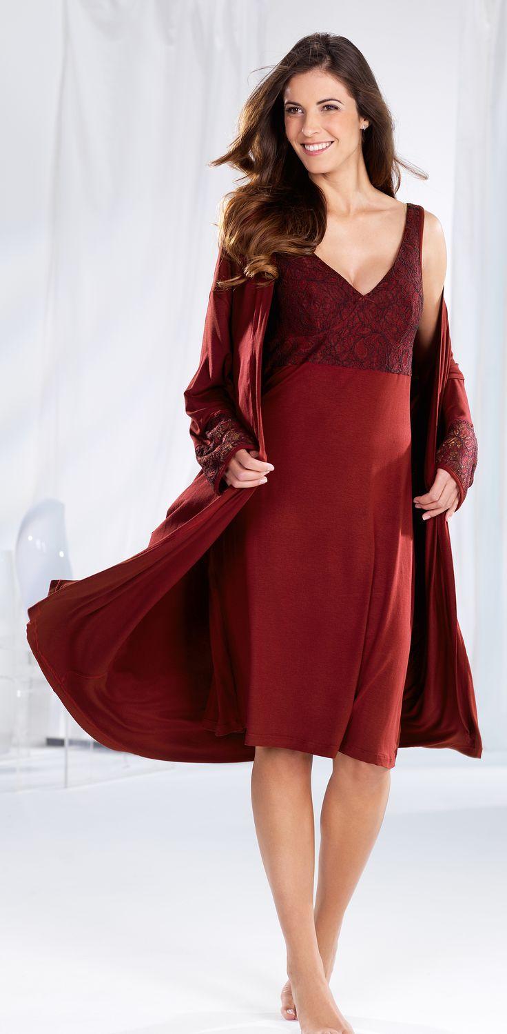 CYBÈLE Podzim-Zima 2016/2017 | Noční prádlo | Župan | Noční košile | Nightwear | Dressing gown | Nightdress | www.naturana-plavky-pradlo.cz