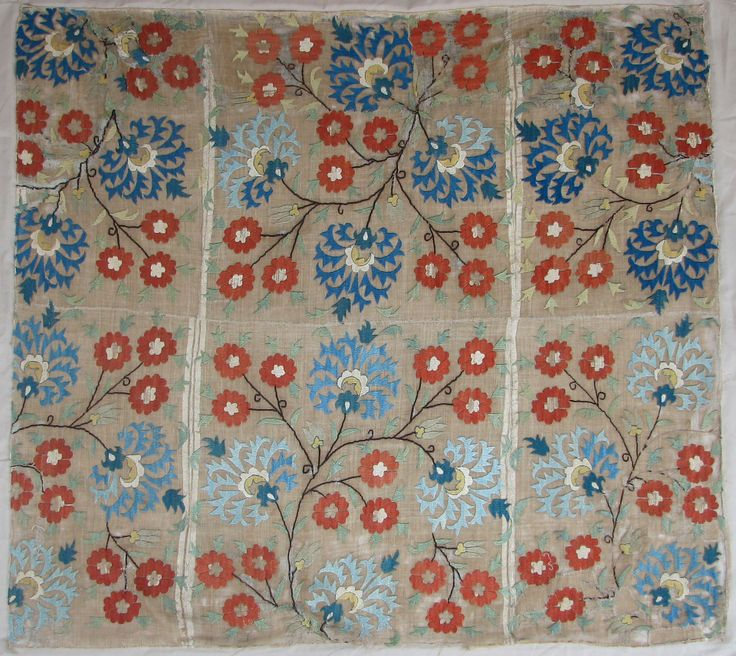 Ottoman Embroidery Fragment