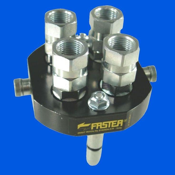 """Hydraulik Schnellkuppelsystem """"Faster"""" 4 fach 40Ltr/min, Muffe und /oder Stecker"""