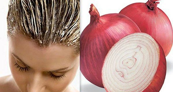 With The Help Of This Recipe Your Hair Will Grow 2 Times Faster ||  Hah -- Red Onion juice - of course! I'm going to make a faclial mask with it as the primary ingredient. Will keep you posted re: the results.