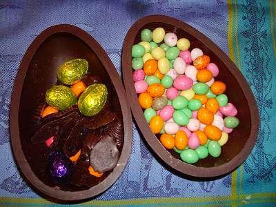 Me Encanta el Chocolate: COMO HACER HUEVOS DE PASCUA CASEROS?'