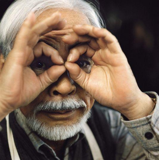 Hayao Miyazaki photo : Cédric Bihr pour M, le magazine du monde.