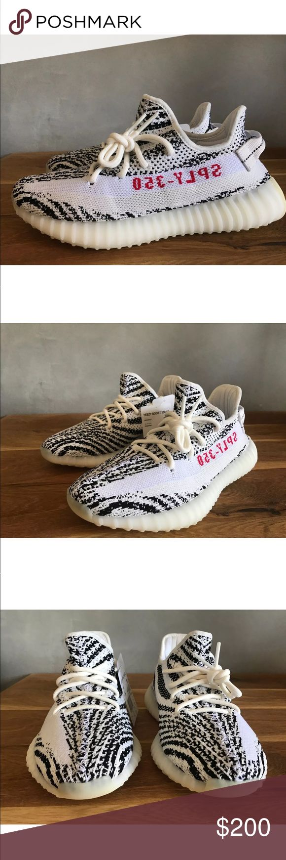 Zebras Selling all out first come first serve No questions asked. Sold as in in as condition. Some boxes damaged no kicks were damaged. I'm sick of this whole kicks gig. 200 a pair no less no more. Buy or lose out. I don't care if you think there fake and made in. China. Ask adidas where they make there's also some made in Vietnam. I'm. Or giving no reciepts don't ask. I'm selling all that's it I had about enough of the bs. Also Zebra Blues avail sizes 10-11  and Belugas and supremes whites…