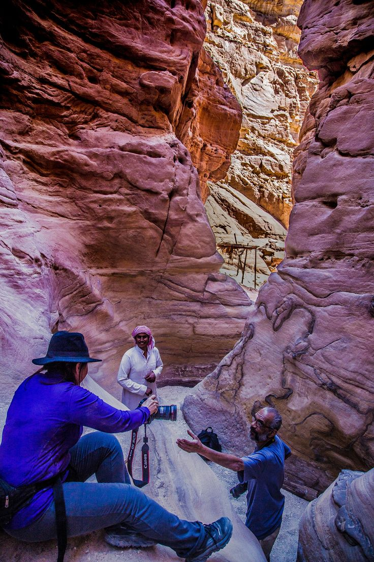Coloured Canyon 26 - Coloured Canyon (Arabic الوادي الملون) is a rock formation on Sinai peninsula. It is a labyrinth of rocks, some of them have about 40 meters. The canyon is almost 800 meters long. The nearest town to the canyon is Nuweiba. It is about 90 km north of Dahab. #ThisisEgypt