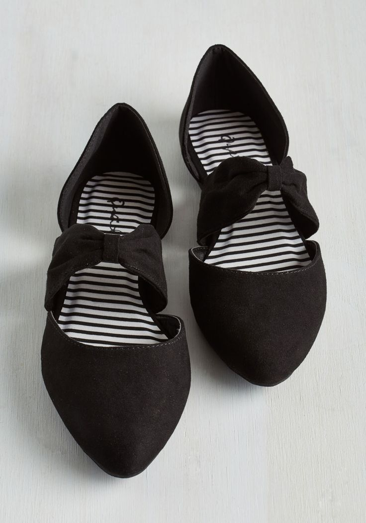 Three Strides and You're Haute Flat in Black, @ModCloth
