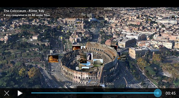 Google Earth's tour guide feature expanded to the tune of 100K new attractions