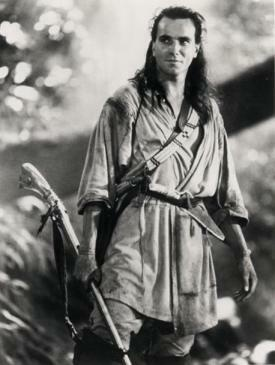 This is my favorite movie ever-Daniel Day Lewis in Last of the Mohicans