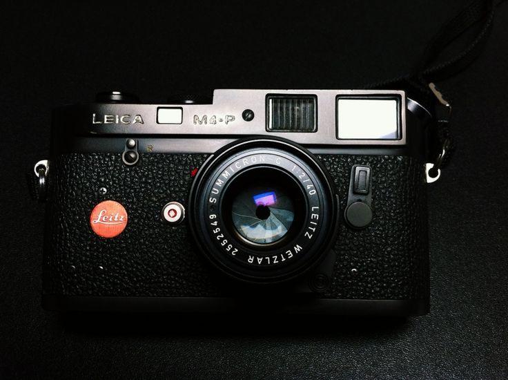 Leica M4-P (1980 - 87) + summicron-c 40/2