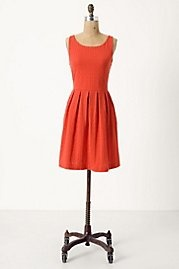 Anthropologie  (good home stuff, too): Pretty Dresses, Bridge Dresses, Summer Dresses, Spring Dresses, Orange Dresses, Red Dresses, Coral Colors, Coral Dresses, Bright Colors