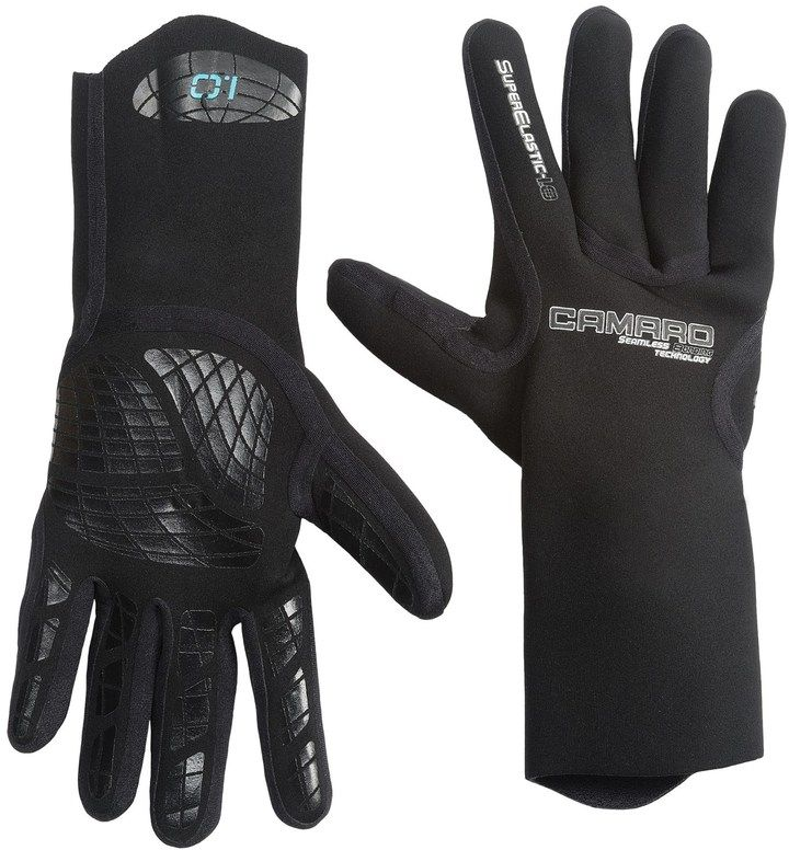 Camaro of Austria Camaro Seamless Dive Gloves - 1mm (For Men and Women)