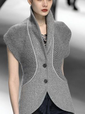 Модные женские жилеты и жилетки на осень, весну и лето 2015 года: фото