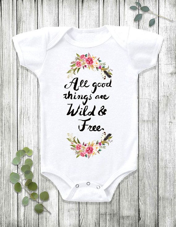 Best 25 wildflower baby shower ideas on pinterest rustic baby boho baby bohemian baby baby girl clothes by fawnandflorababy negle Image collections