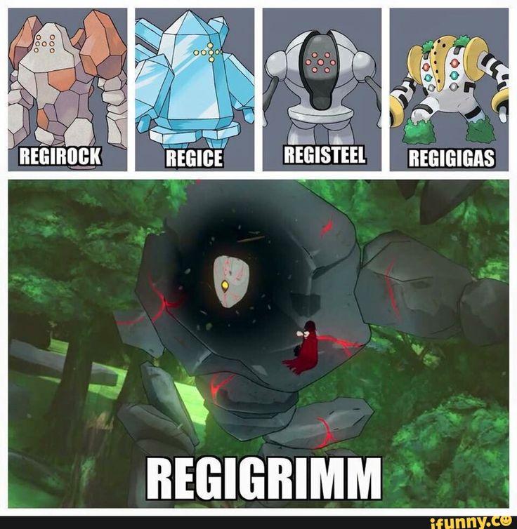 Dark type regi confirmed