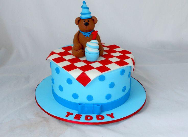 Teddy Bear's Picnic Cake by My Cake Place http://www.mycakeplace.com.au/ https://www.facebook.com/MyCakePlace
