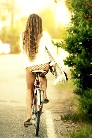 All you need a bike + a board #Surfer #Chick #Sun #Sand #Adventure # Life