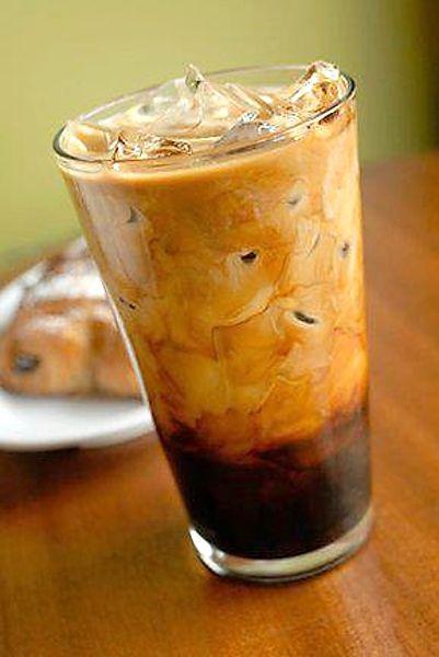 Brazilská ledová káva