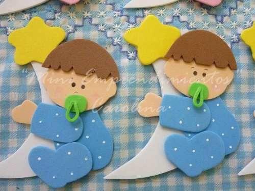 modelos en foamy para baby shower