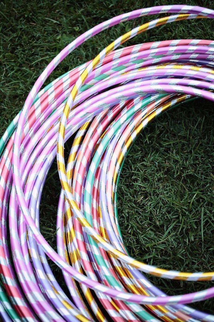 Kids At Weddings Hula hoops
