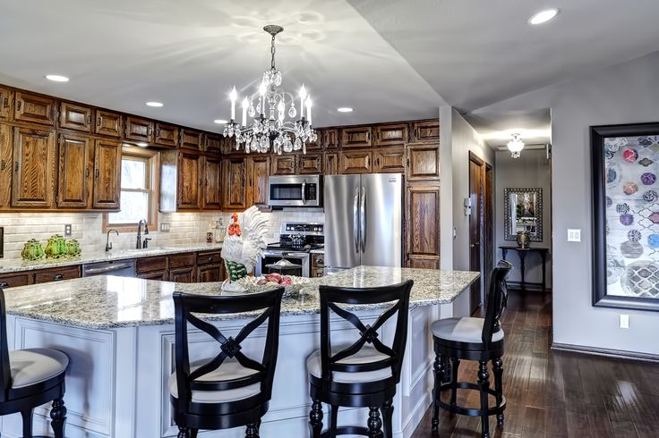 Traditional Split Level Remodel - This is my dream...