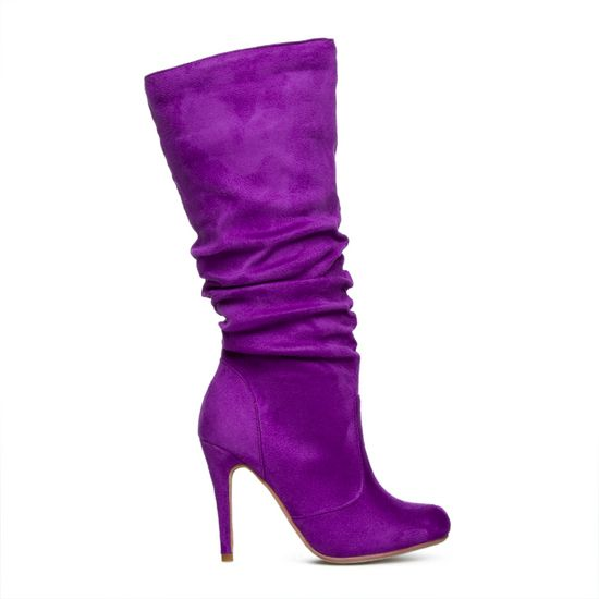 Melrose Purple Boot