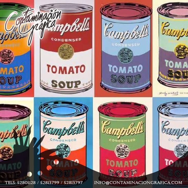 6 de agosto de 1928, nace Andy Warhol, precursor del #PopArt o Arte Pop.
