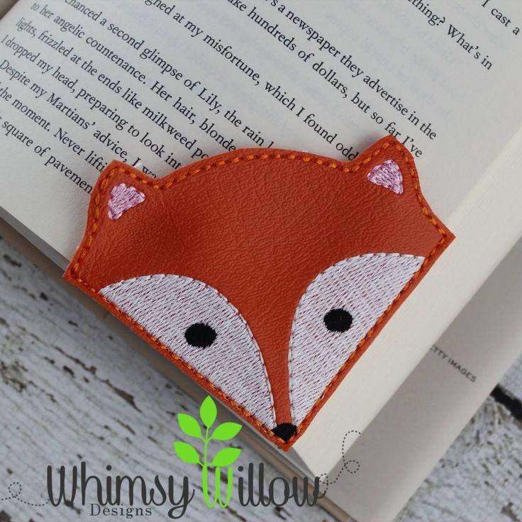 Fox Corner Bookmark                                                                                                                                                                                 More