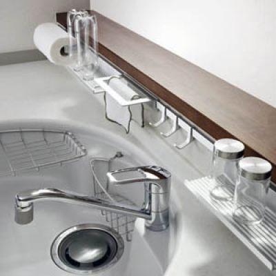キッチンハンガーユニット キッチンパーツ 建築部材の見積 購入 Ekreaparts エクレアパーツ キッチンアイデア カワジュン キッチン 収納棚 スライド