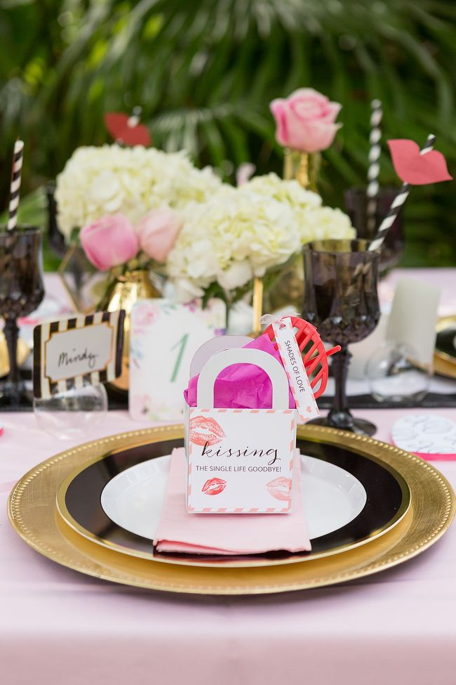 Black And Pink Valentine's Party