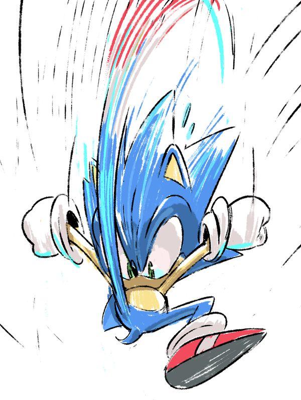 Sonic by Tyson Hesse