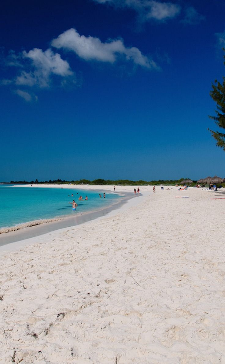 Cayo Largo del Sur - just one of Cuba's many spectacular beaches.