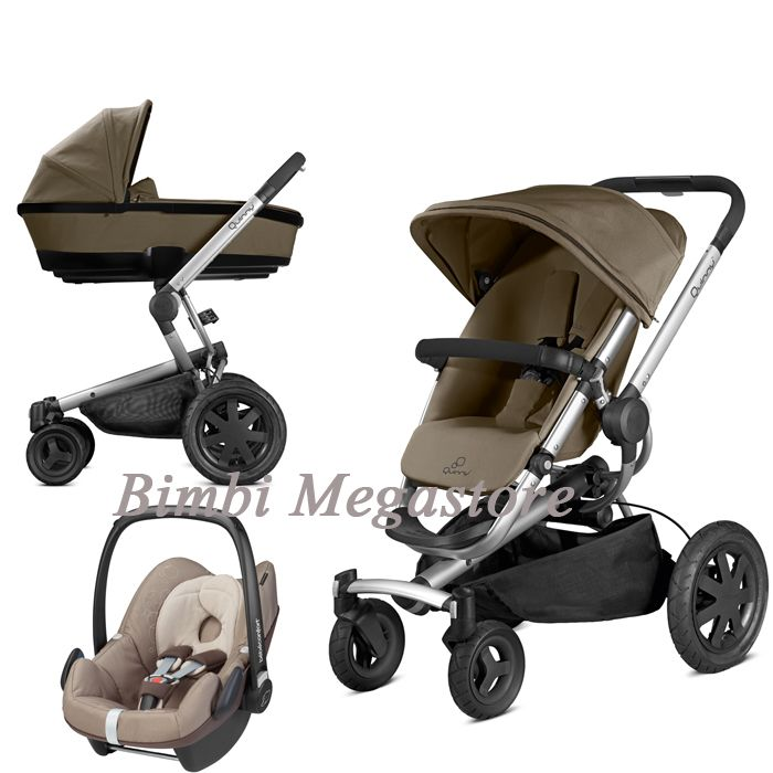 Quinny Buzz Xtra Pushchair In Purple Pace With Maxi Cosi: Quinny Buzz Xtra Trio 2014