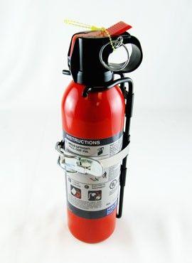 Compact Halon Fire Extinguisher - H3R RTA600 #aeromedix