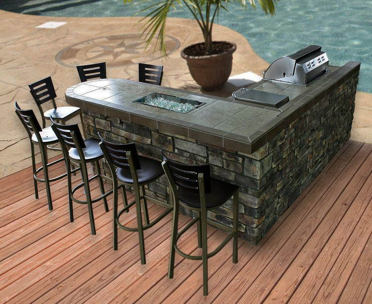 13 Artistic Outdoor Bar Concepts For Your Backyard Motivation Zeltahome Com Outdoor Kitchen Island Outdoor Bbq Kitchen Outdoor Remodel