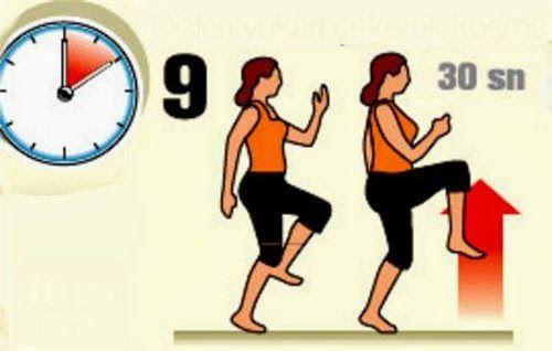 Koşma egzersizi